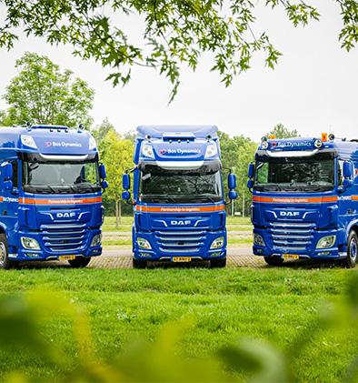 Nieuwe DAF vrachtwagens