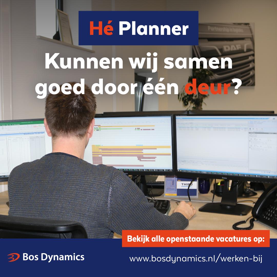 Transport Planner m/v fulltime